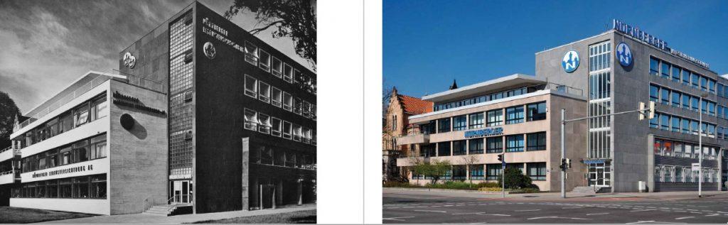 Hannover, Nürnberger Lebensversicherung (E. F. Brockmann, 1955) (Bildquelle: entstehende Publikation von Hartmut Möller)