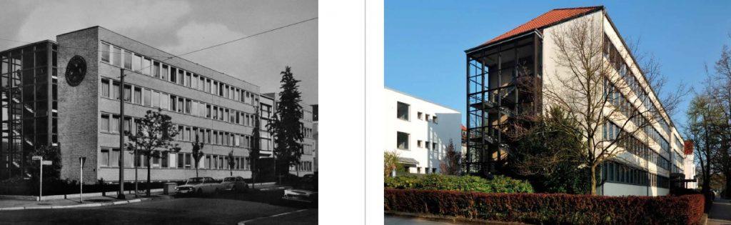 Hannover, Raiffeisenhaus (E. F. Brockmann, 1959) (Bildquelle: entstehende Publikation von Hartmut Möller)