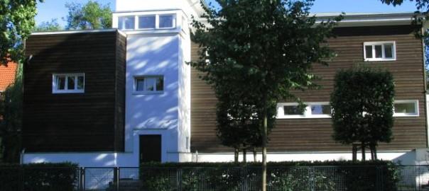 Inzwischen abgerissen: Haus Dietz in Potsdam (Bild: Mahrla, CC-BY-SA 3.0)