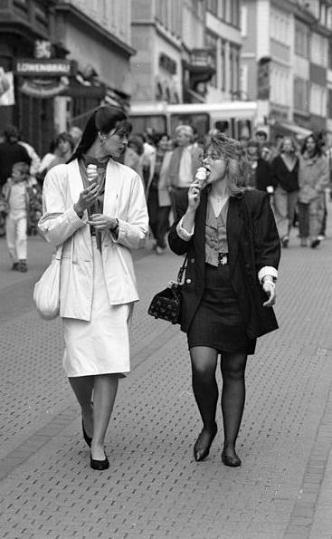 Heidelberg, Fußgängerzone, 1988 (Bild: Bundesarchiv B 145 Bild F079102-0008, CC BY SA 3.0.de)