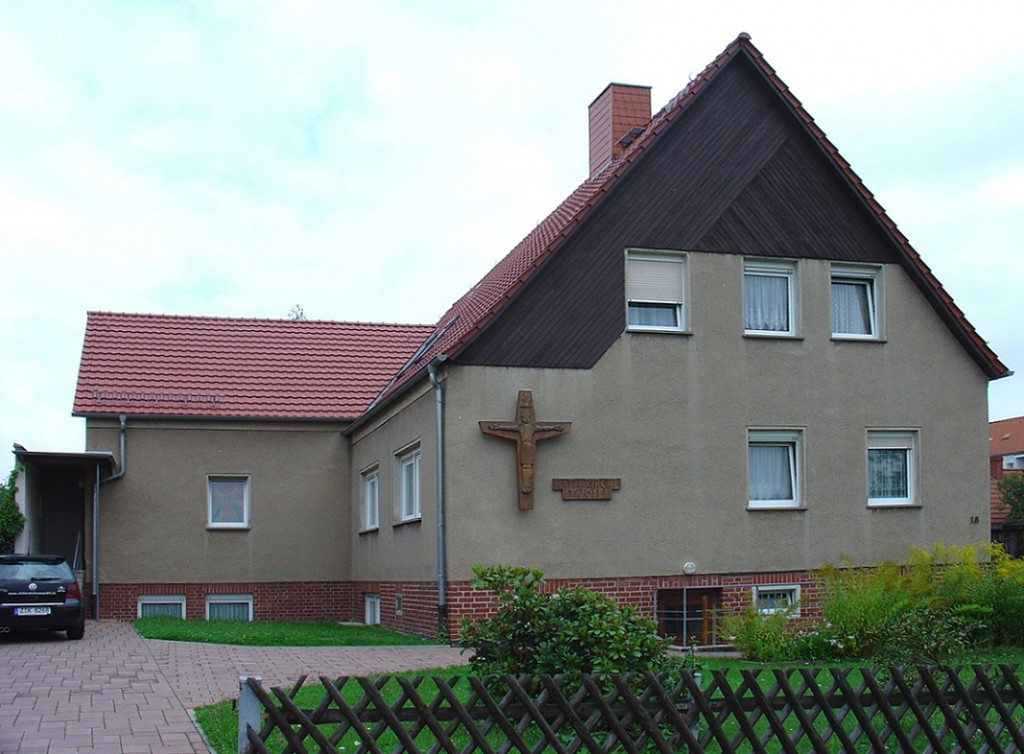 Hersmdorf/Thüringen, Katholische Kirche (Bild: Verena Schädler)
