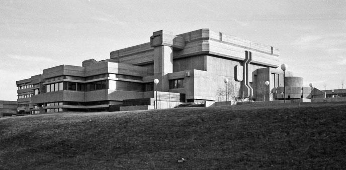 Mattersburg, Kulturzentrum (Herwig Udo Graf, 1973-76) (Copyright: DAM)