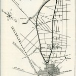 Hockenheimring, Streckenverlauf von 1938 (Bild: Hockenheimring GmbH, 1938)
