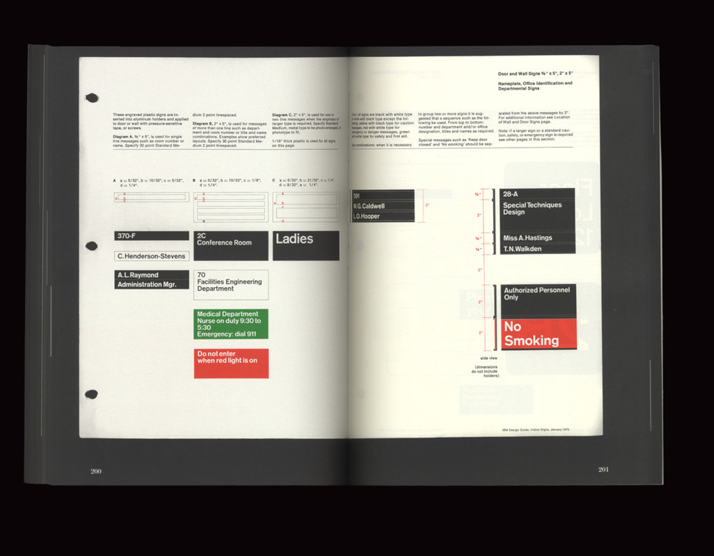 Paul Rand, IBM Graphic Standards Manual, 1975 (Reprint) (Bild: Empire Books, Quentin Schmerber, Francisco Gaspar, CC BY NC ND 4.0)