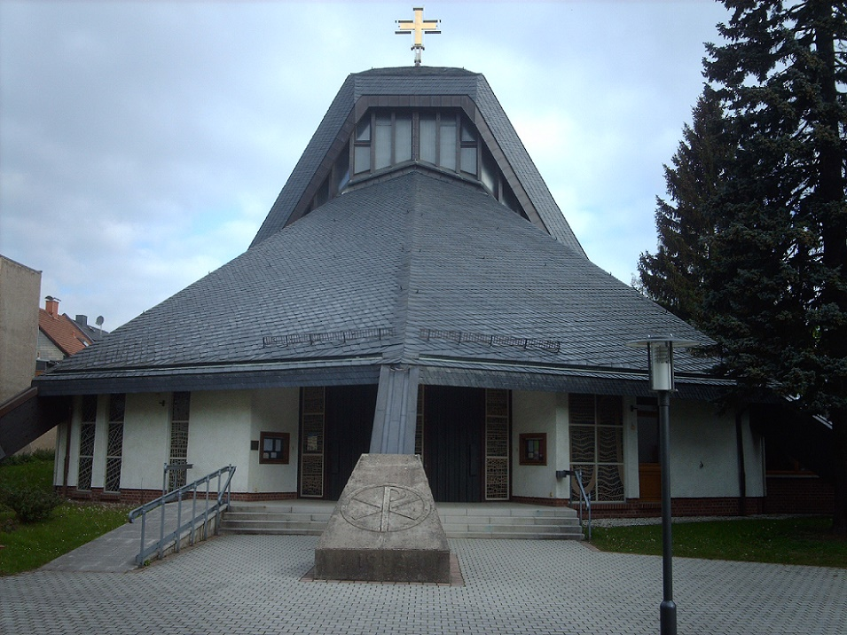 Ilmenau, St. Joseph (1983) (Bild: Giorno2, CC BY SA 3.0)
