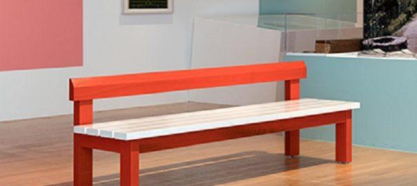 "Parkbank, Exponat der Ausstellung ""Moderne am Main 1919-1933"" im Museum Angewandte Kunst (Bild: © Museum Angewandte Kunst, Foto: Wolfgang Günzel)"