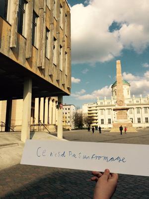 """Ist das Stadt oder kann das weg"" (Bild: Musenkuss Potsdam)"