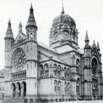 Hannover, Neue Synagoge, Calenberger Neustadt (1870, E. Oppler, 193 zerstört) (Scan: Nifoto)