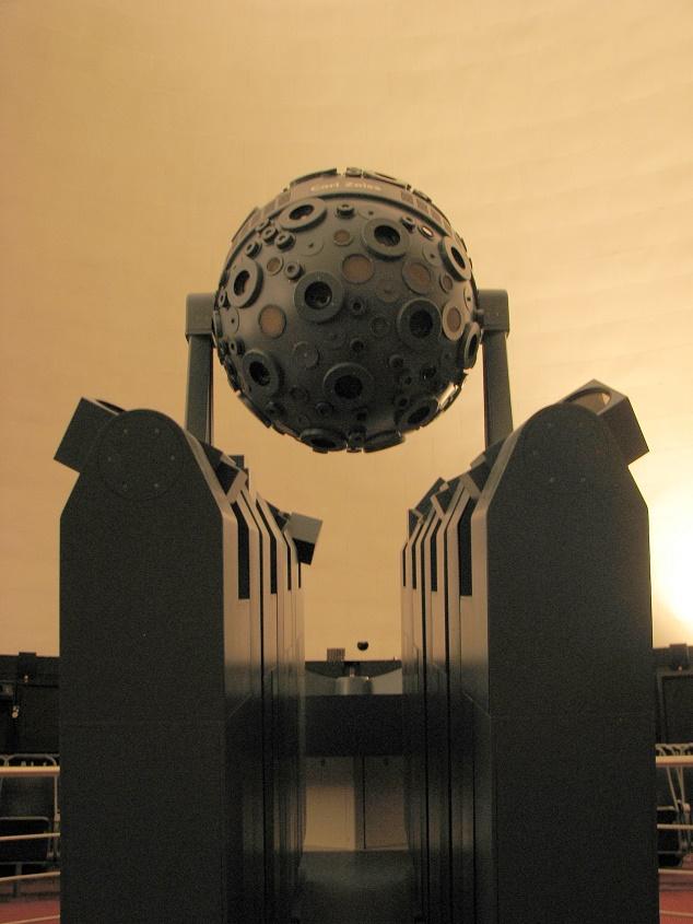 Jena, Zeiss-Planetarium (Bild: Per Stenlund (Pesten), GFDL oder CC BY SA 4.0-3.0-2.5-2.0-1.0)