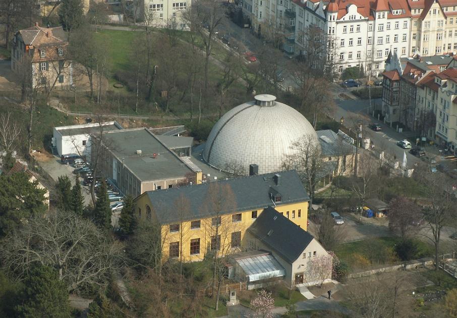 Jena, Zeiss-Planetarium (Bild: froutes (froutes.de), Michael Mertens, CC BY SA 2.0)
