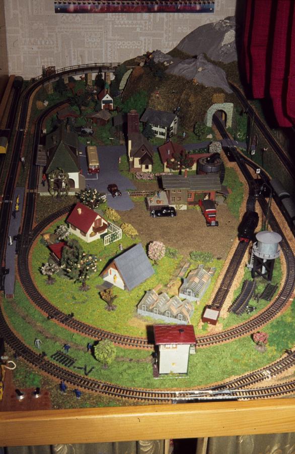 Die Modellbahn-Anlage von Jürgen Herzog (Foto: privat)
