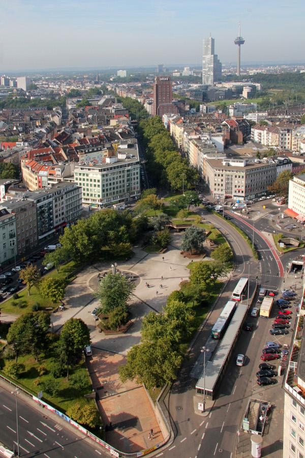Köln, Ebertplatz (Bild: Willy Horsch, GFDL oder CC BY SA 3.0, 2011)