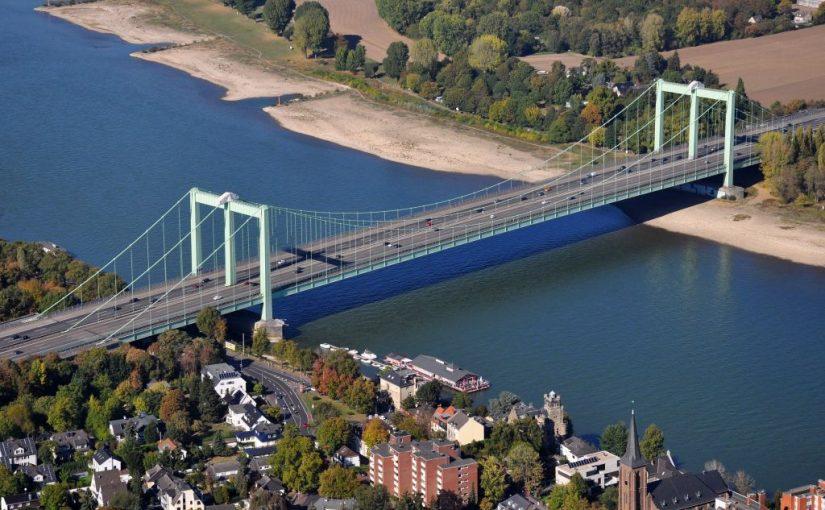Knabbern an der Rodenkirchener Brücke?