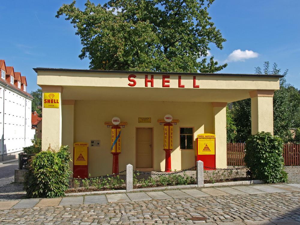 Kamenz, Shell-Tankstelle (Bild: Oberlausitzerin64, CC BY SA 3.0, 2016)