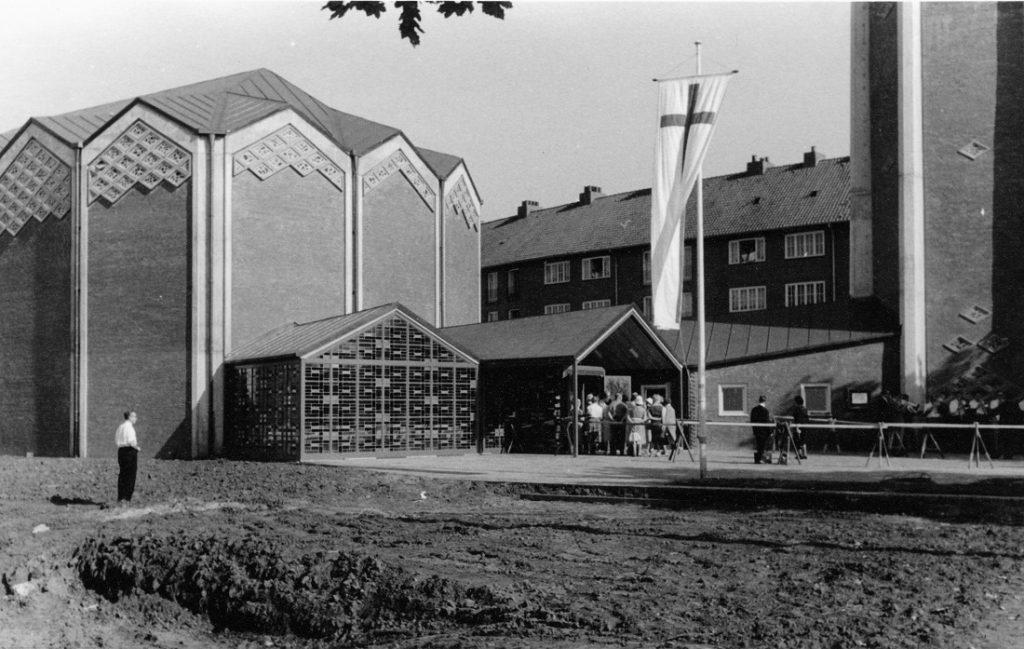 Hamburg-Horn, Kapernaumkirche, 1961 (Bild: Kirchenarchiv der Kapernaumkirche, Hamburg)