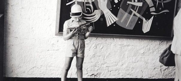 Hans Haacke, Fotonotizen zur documenta II, 1959, ausgestellt 2017 auf der documenta XIV