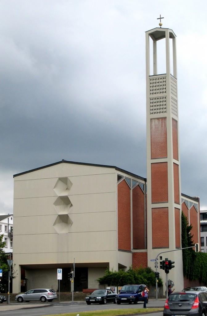 Kassel, St. Elisabeth, 1960, Armin Dietrich (Bild: Eistreter, CC BY SA 3.0 oder GFDL)