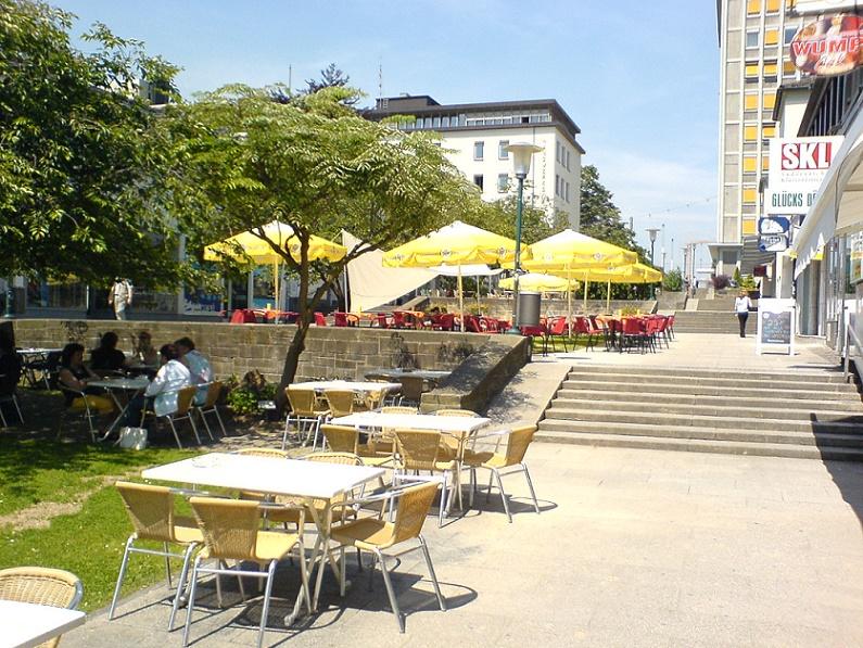 Kassel, Treppenstraße (Bild: Dirk Schmidt, GFDL oder CC BY-SA 3.0)