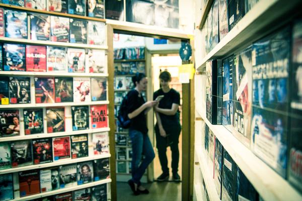 Kassel, Eckis Videothek (Bild: Randfilm e. V.)
