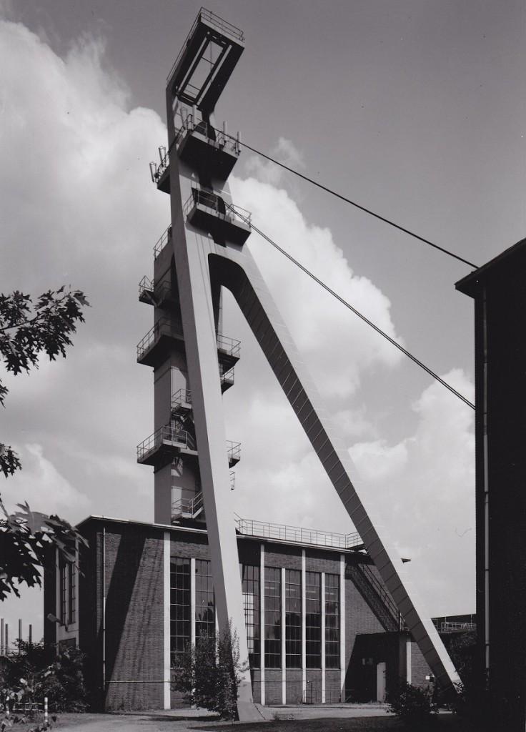Kempen, Niederberg 4, Fördergerüst (Bild: Steinhoff Archiv TD)