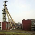 Das Fördergerüst - Zeche Niederberg 4