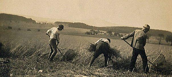 Betzenrod, Hachschara-Lernhof, 1920er Jahre (Bild: PD, via wikimedia commons)