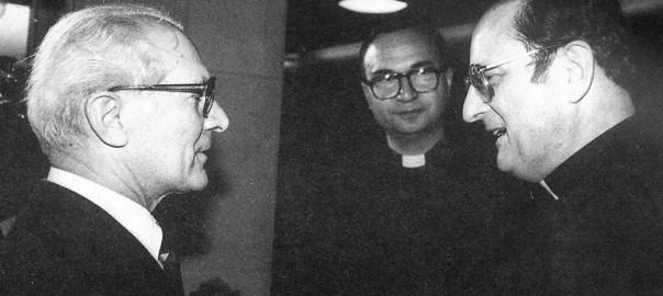 Honecker als Freund der katholischen Kirche? (Bild: Vernea Schädler)