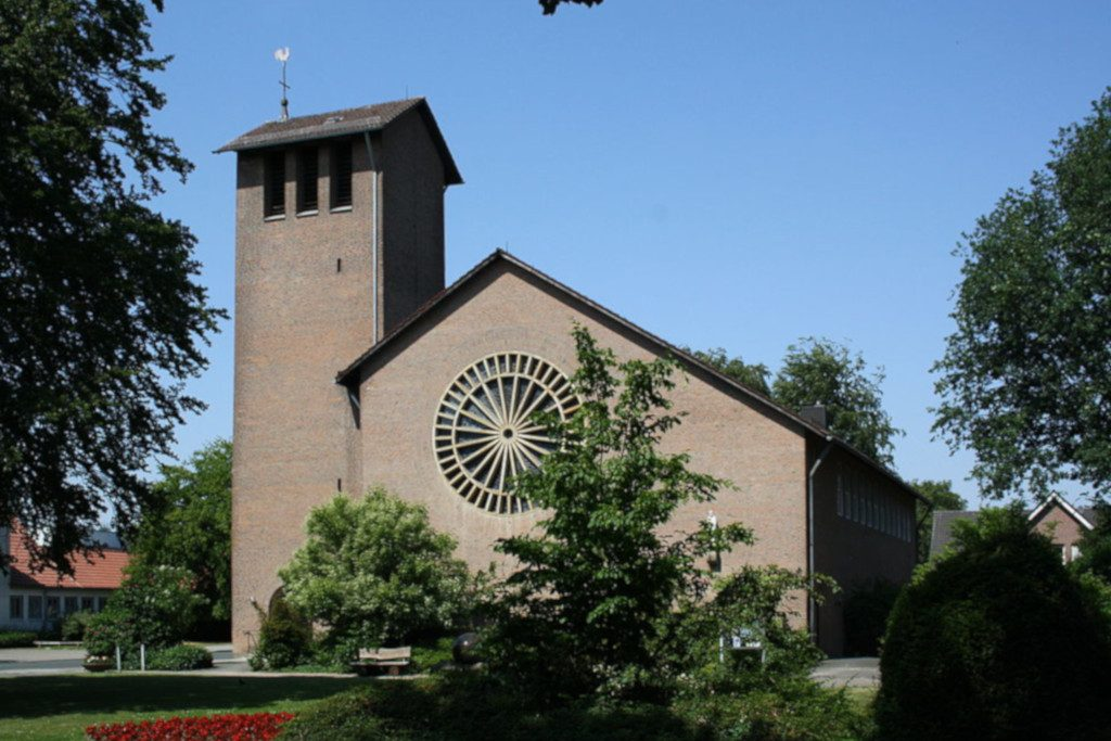 Kleve-Reichswalde, Herz-Jesu-Kirche (Bild: MiraculixHB, CC0 1.0, 2010)
