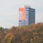 Über den Wipfeln der Herkules ... (Bild: Uta Winterhager, Köln, Herkuleshochhaus)