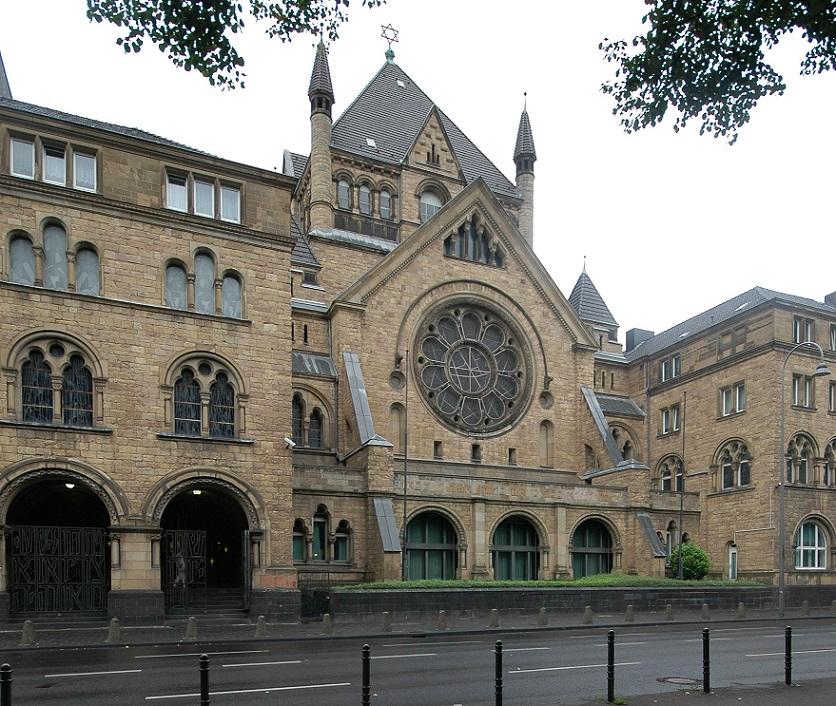 Köln, Synagoge in der Roonstraße (Bild: U. Knufinke)