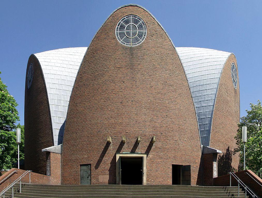 Köln-Riehl, St. Engelbert (Bild: © Raimond Spekking, CC BY-SA 4.0, via wikimedia commons, 2008)