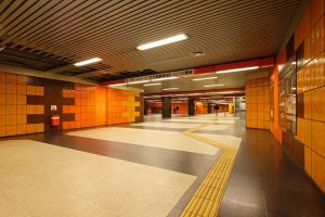 "Köln, U-Bahnhof ""Deutz/Messe"" (Bild: Gundula Lang, 2018)"