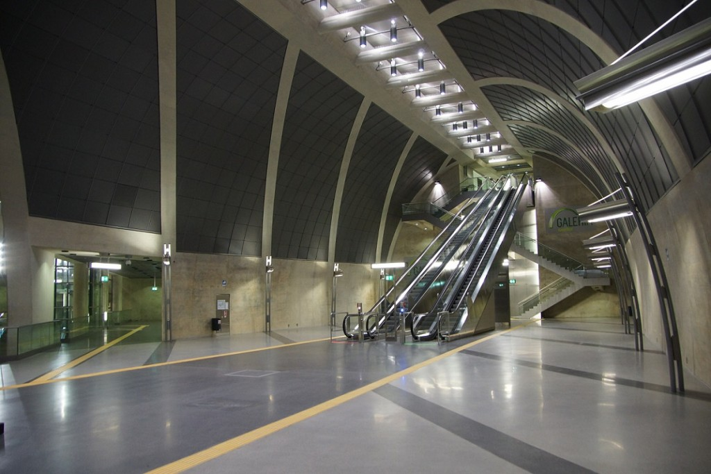 """Koeln, U-Bahnstation """"Heumarkt"""", Zwischenebene (Bild: Tohma, GFDL oder CC BY SA 4.0, 3.0, 2.5, 2.0, 1.0)"""