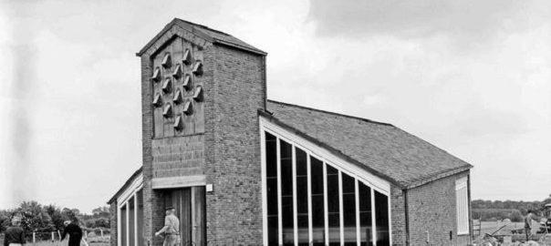 Lauenburg-Köthel, Johanniskapelle (Bild: Nachlass Raimund Marfels, Foto: Raimund Marfels, wohl um 1966, CC BY NC SA 4.0)