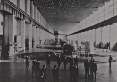 Krasnoyarsk, Turbinenhalle, 1975