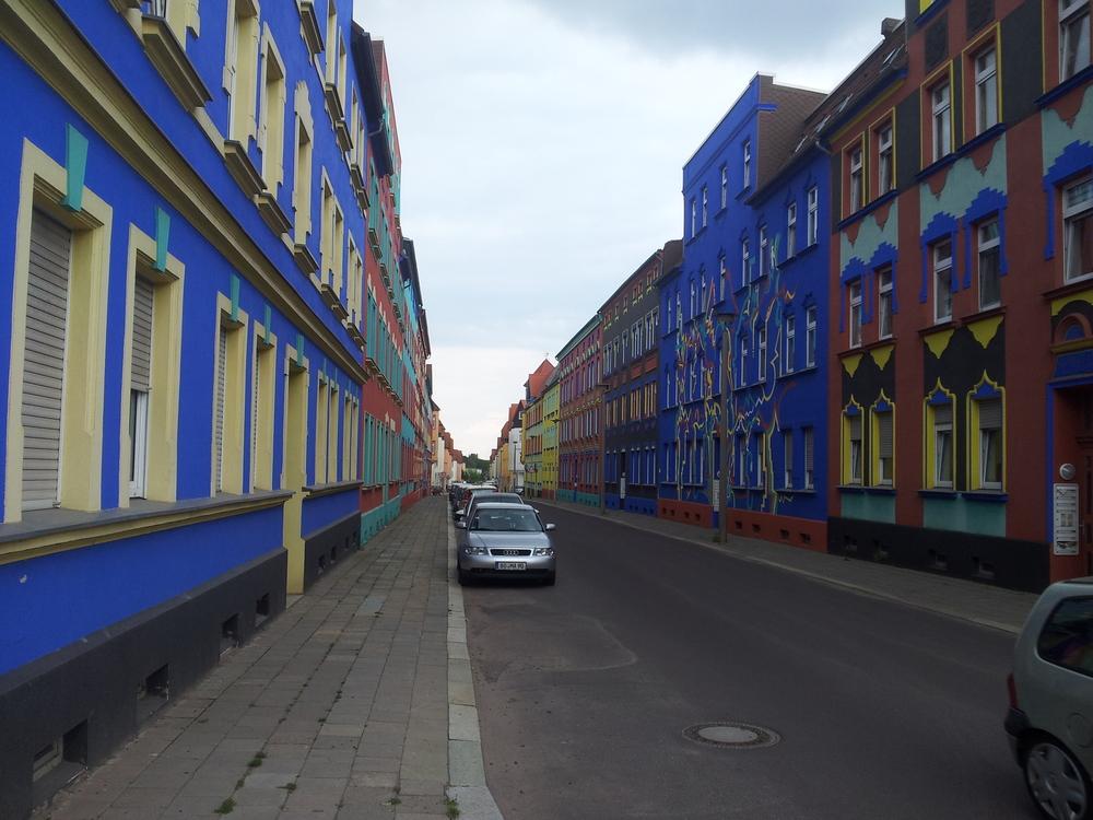 Krayl: Buntes Magdeburg, Bild: Julius Reinsberg