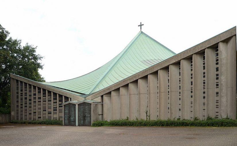 Krefeld, St. Pius X, (Bild: C. Steffen Schmitz (Carschten), via wikimedia commons, CC BY SA 3.0 DE oder Free Art License)