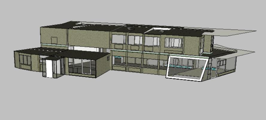 Löbau, Haus Schminke, Simulationsmodell (Bild: Schmid/Wellnitz)