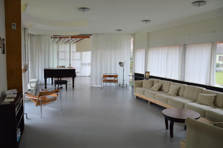 Löbau, Haus Schminke, Wohnzimmer (Bild: Schmid/Wellnitz)
