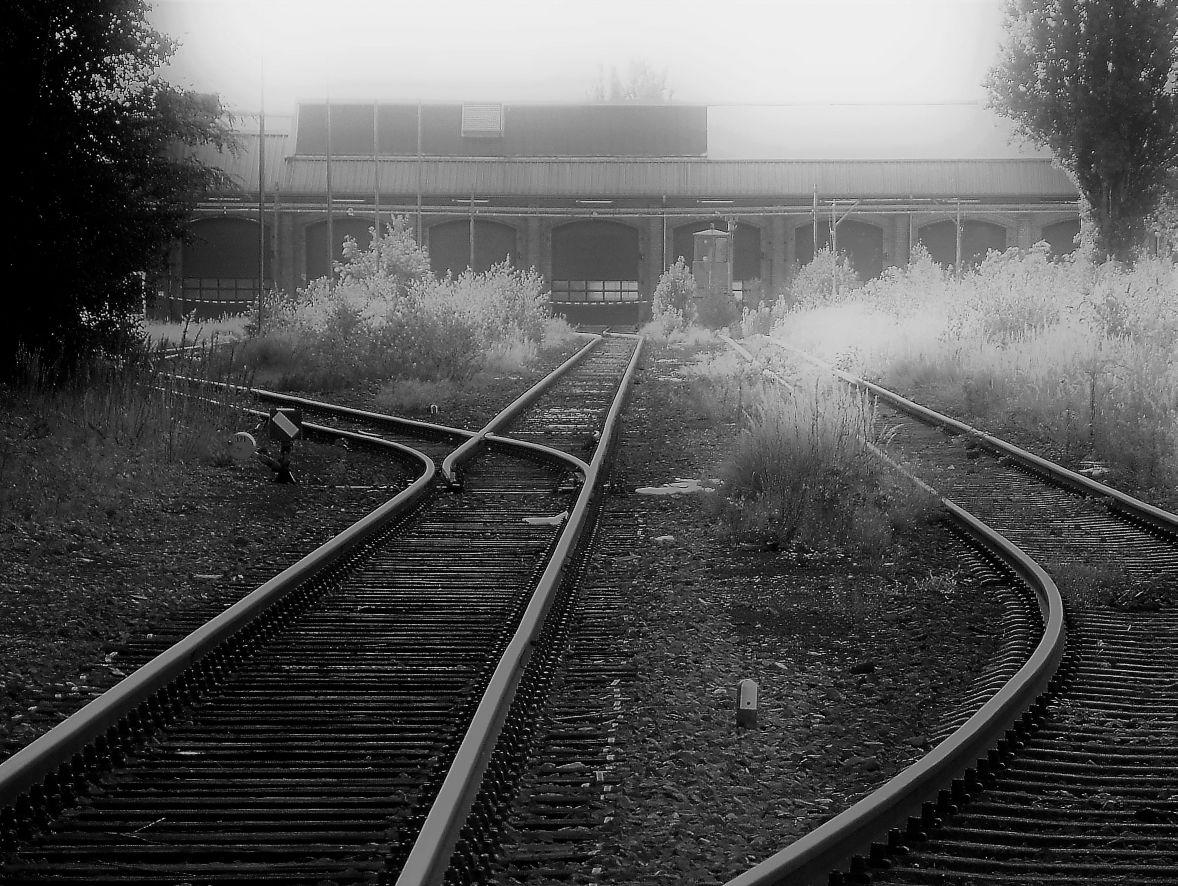 Hannover, Bahnausbesserungswerk Leinhausen (Bild: Martin Stöber)