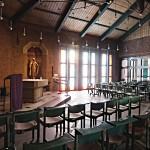 "Langen, Albertus-Magnus-Kirche (J. Kepser, 1985), Kapelle ""Maria vom Frieden"" (Bild: E-W, CC BY SA 3.0)"