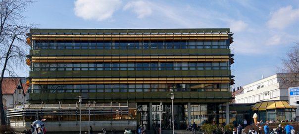 Rathaus Laupheim auf der Kippe