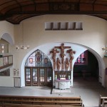 Großgartenbach (Leingarten), Lorenzkirche, 1913 (Bild: Peter Schmelzle, OCC BY-SA 3.0)