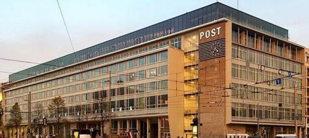 Leipzig: Die Hauptpost ist unter der Haube
