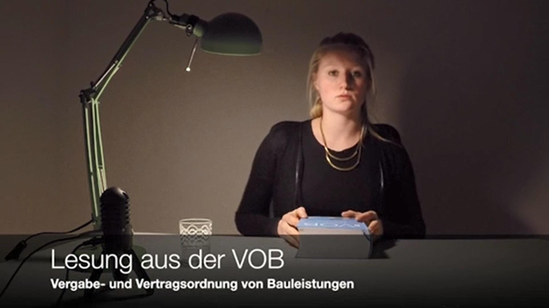 """""""lesungen aus der vob"""": Beispiele für die seltsame Prosa zur Architektur"""