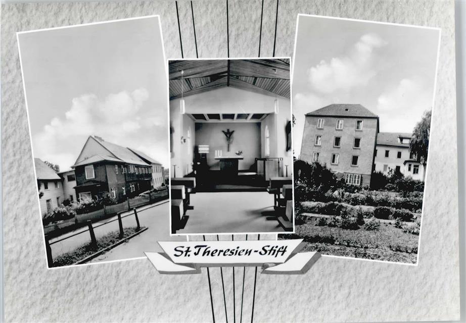 Liebenburg, St. Theresienstift (Bild: Postkarte, Verlag Schramm und Co., St. Michaelsdonn/Holstein)