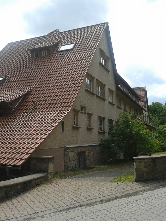 Loheland, Wiesenhaus, 1958 (Bild: K. Berkemann)