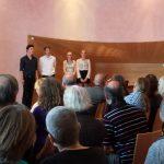 Die Buchvorstellung in Loheland am 29. Mai 2016 wurde musikalisch von Loheländer Schülerinnen und Schülern mit Stücken aus der Gründungszeit der Siedlung gerahmt (Bild: K. Berkemann)