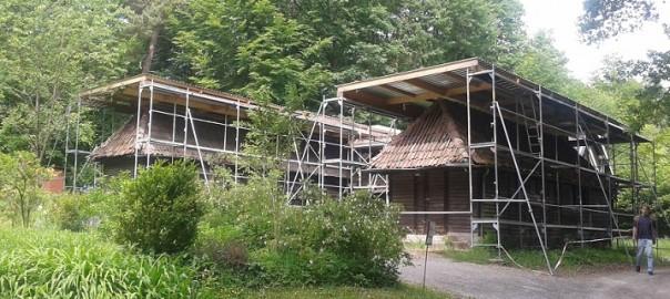 Loheland: Von der Schiene unters Dach