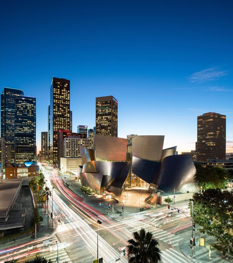 Los Angeles, Walt-Disney-Concert-Hall, 2003, Frank Gehry (Bild: Copyright Hunter Kerhart, J. Paul Ghetty Trust)